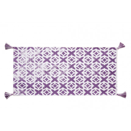Πατάκι Μπάνιου 60X130 Palamaiki Bathmat Collection Tile Lilac