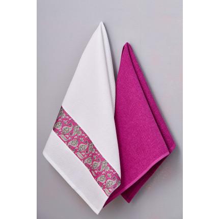 Πετσέτες Κουζίνας 50X70 (Σετ 2 Τμχ) Palamaiki Kitchen Towels Rubina