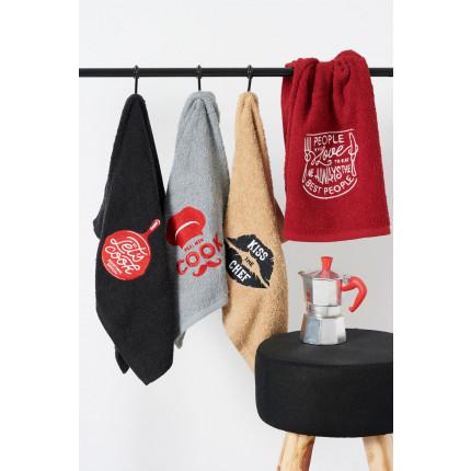 Πετσέτες Κουζίνας 40X60 (Σετ 4 Τμχ) Palamaiki Kitchen Towels Kt100