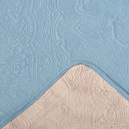 Κουβερλί Μονό 160X240 Palamaiki Cover Colletion Linden Jade-Beige