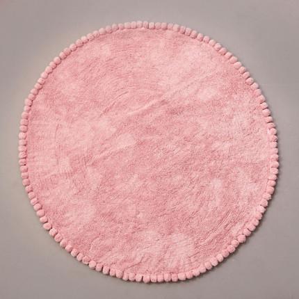 Στρογγυλό Χαλί Φ120 Palamaiki Kids Decor Sugar Pink (All Season)