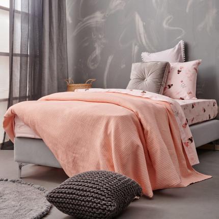 Κουβερτόριο Κούνιας 110X150 Palamaiki Blanket Collection Deem Pink