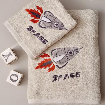 Παιδικές Πετσέτες (Σετ 2 Τμχ) Palamaiki Kids Bathroom Space