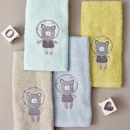 Παιδικές Πετσέτες (Σετ 4 Τμχ) 40X60 Palamaiki Kids Bathroom Space Lift