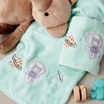 Παιδικές Πετσέτες (Σετ 2 Τμχ) Palamaiki Kids Bathroom Astronaut
