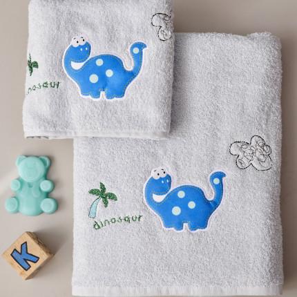 Παιδικές Πετσέτες (Σετ 2 Τμχ) Palamaiki Kids Bathroom Palm
