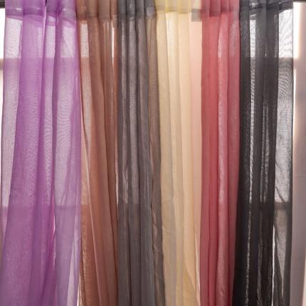 Κουρτίνα Με Τρουκς 140X260 Palamaiki Curtain Collection Era Coal