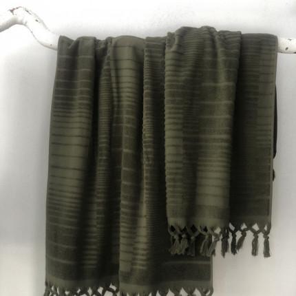 Πετσέτα Προσώπου 50x90 Palamaiki Bath Towel Collection Baker Khaki