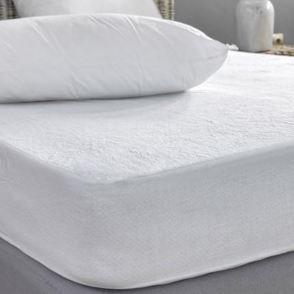Αδιάβροχο Επιστρώμα King Size 180X200+30 Palamaiki White Comfort Waterproof Με Λάστιχο
