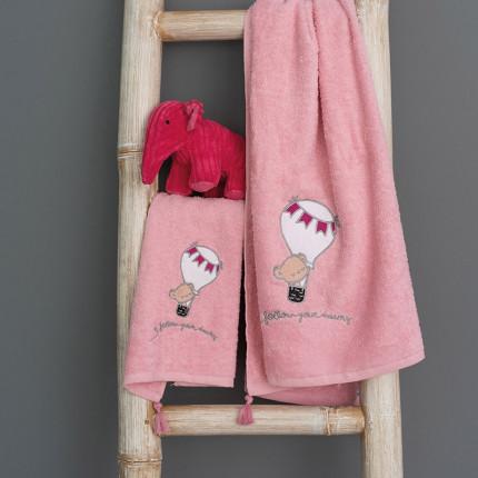 Παιδικές Πετσέτες (Σετ 2 Τμχ) Palamaiki Kids Bath Journey Girl