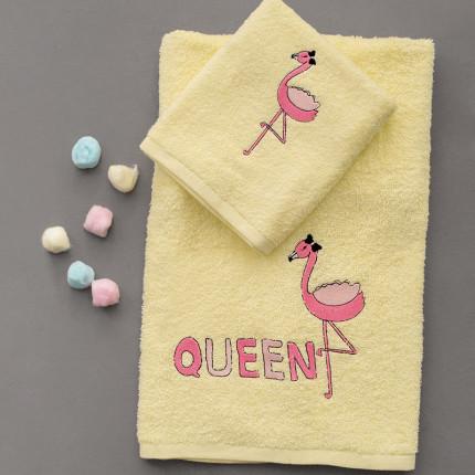 Παιδικές Πετσέτες (Σετ 2 Τμχ) Palamaiki Kids Bath Queen
