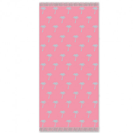 Πετσέτα Θαλάσσης 85X160 Palamaiki Beach Collection Fineas Pink