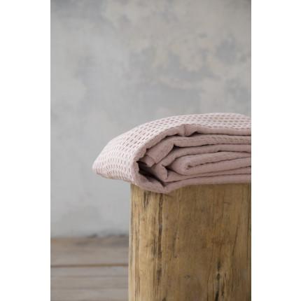 Κουβέρτα Πικέ Υπέρδιπλη 220x240 Habit - Nima Peach