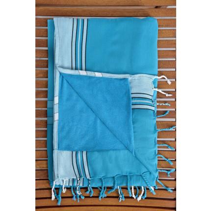 Πετσέτα/Παρεό 95x175 - Nima Mahabali Blue