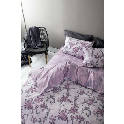 Παπλωματοθήκη Μονή (Σετ) Nima - Segovia Purple