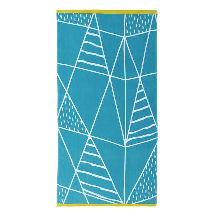 Πετσέτα Θαλάσσης 70x140 Nima - Kancun Blue
