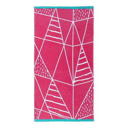 Πετσέτα Θαλάσσης 70x140 Nima - Kancun Pink