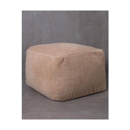 Πουφ 50x50x35 Nima - Wooly Nude