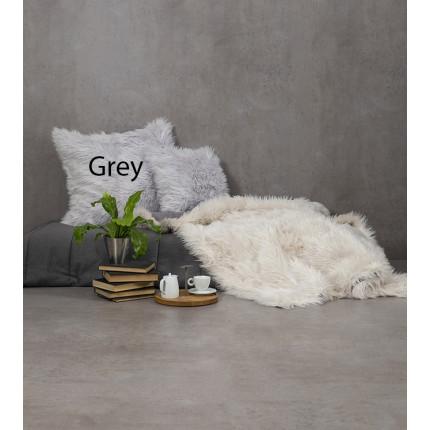 Κουβέρτα Καναπέ 130x170 Nima - Fluffy Gray