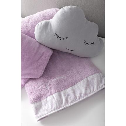 Κουβέρτα Λίκνου Fleece 80x110 Nima - Precious