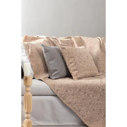 Διακοσμητικό Μαξιλάρι 45x45 Nima - Fleur Nude