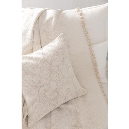 Διακοσμητικό Μαξιλάρι 45x45 Nima - Bibelot Ivory