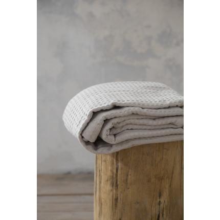 Κουβέρτα Πικέ Υπέρδιπλη 220x240 Habit - Nima Sunny Beige