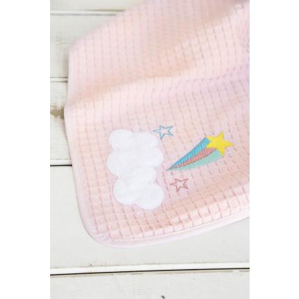 Κουβέρτα Πικέ Λίκνου 80x110 - Nima Arco