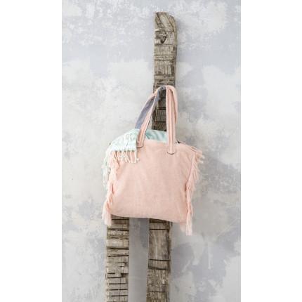 Τσάντα Θαλάσσης 46x60 - Nima Poche Salmon