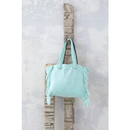 Τσάντα Θαλάσσης 46x60 - Nima Poche Mint