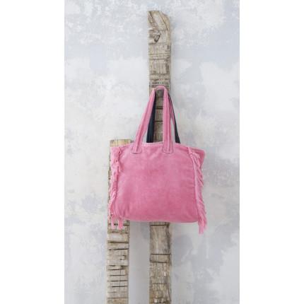 Τσάντα Θαλάσσης 46x60 - Nima Poche Pink