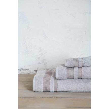 Σετ Πετσέτες Μπάνιου (3 Τμχ) - Nima Juniper Light Gray