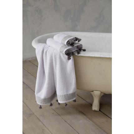 Πετσέτα Προσώπου 50x90 - Nima Assent Light Gray