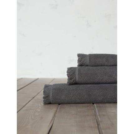 Πετσέτα Χεριών 30x50 Nima Sieve Dark Gray