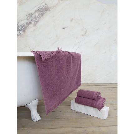 Πετσέτα Προσώπου 50x90 Nima Sieve Cassis