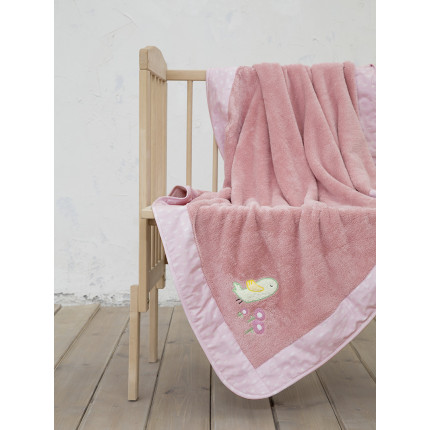 Κουβέρτα Fleece Κούνιας 110x140 Nima Cuckoo