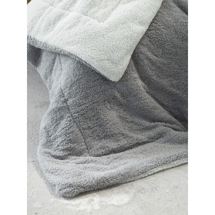 Κουβερτοπάπλωμα Μονό 150x220 Nima Melt Mint/Dark Gray