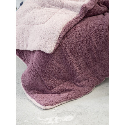 Κουβερτοπάπλωμα Μονό 150x220 Nima Melt Powder Pink/Cassis
