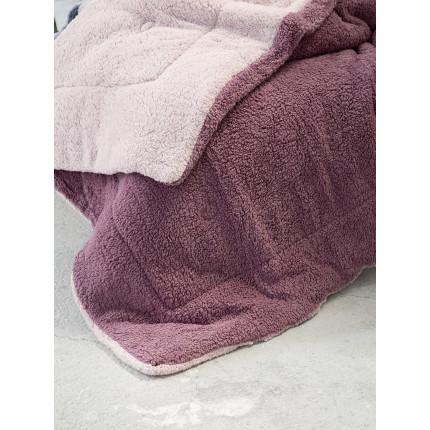 Κουβερτοπάπλωμα Υπέρδιπλο 220x240 Nima Melt Powder Pink/Cassis