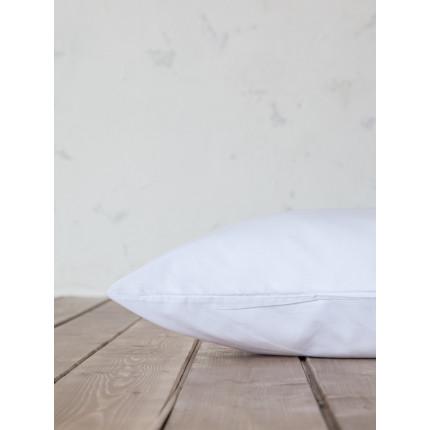 Σεντόνι Μεμονωμένο Υπέρδιπλο 240x260 Nima Primal White Χωρίς Λάστιχο