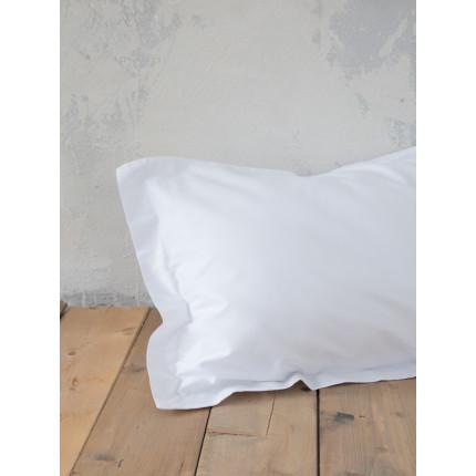 Σεντόνι Μεμονωμένο Μονό 100x200+34 Nima Superior White Με λάστιχο