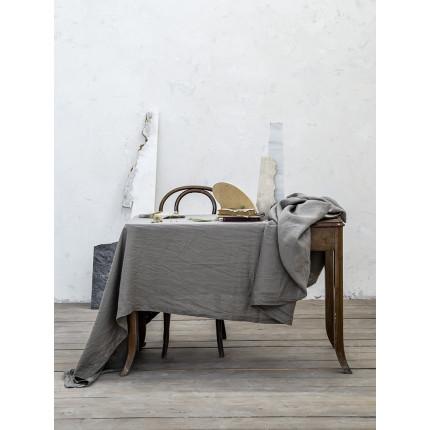 Σουπλα (Ζεύγος) 30x50 Nima Linho Dark Gray