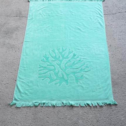 Πετσέτα Θαλάσσης 90X160 Nima Coral Emerald