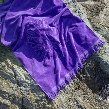 Πετσέτα Θαλάσσης 90X160 Nima Coral Mauve