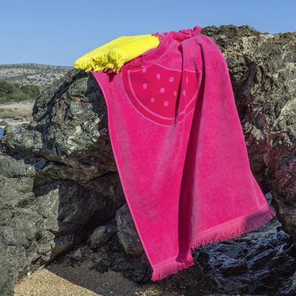 Πετσέτα Θαλάσσης 70X140 Nima Watermelon Fuchsia
