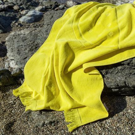 Πετσέτα Θαλάσσης 70X140 Nima Watermelon Yellow