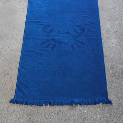 Πετσέτα Θαλάσσης 70X140 Nima Crab Blue