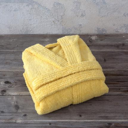 Βρεφικό Μπουρνούζι Με Κουκούλα 4 Nima Wizard Sunny Yellow
