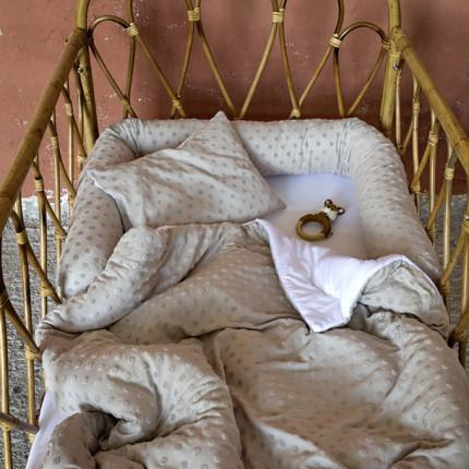 Σεντόνια Κούνιας (Σετ) 120X170 Nima Pookie Beige Χωρίς Λάστιχο