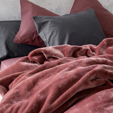 Κουβέρτα Βελουτέ Μονή 160X220 Nima Coperta